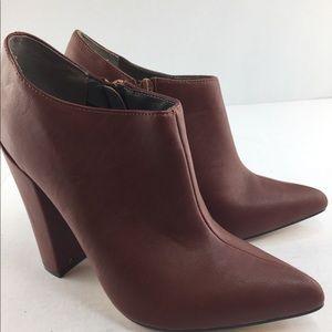 Michael Antonio Women's Ankle Boot, Cognac, 7.5m
